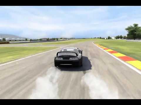 Carx Drift Racing Toyota Supra w/ 90 degree entry