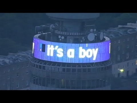 It's a Boy! William, Kate Welcome Royal Baby