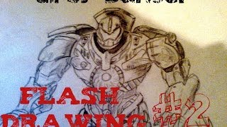Drawing Gipsy Danger ! Flash Drawing #1