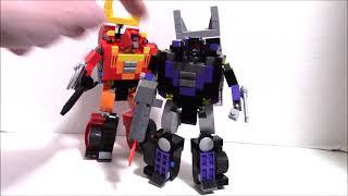 Lego Transformers Shattered Glass Rodimus - Unicronus by BWTMT Brickworks