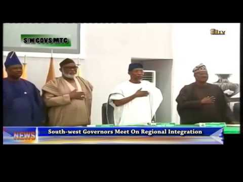 South-West governors meet on regional integration