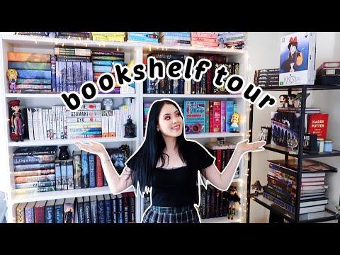 BOOKSHELF TOUR 2020 (all of my bookshelves)