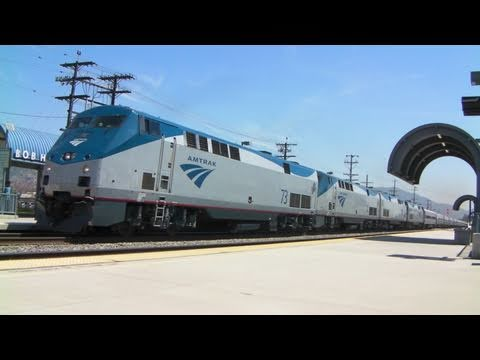 Thumbnail: Amtrak #974 Monster Train - 4/15/11