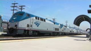 Amtrak #974 Monster Train - 4/15/11