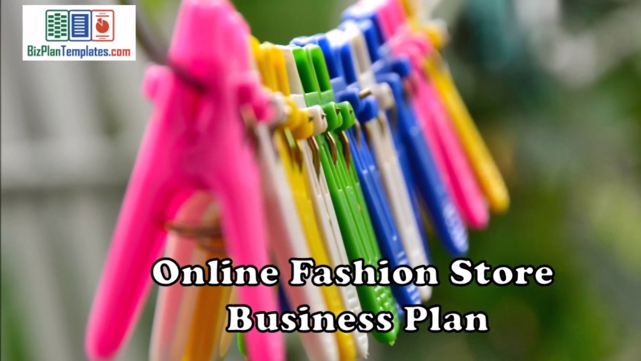 Online fashion store business plan template with example sample online fashion store business plan template with example sample accmission Images