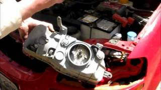 Chevy 2005 Aveo headlamp Replacement.wmv