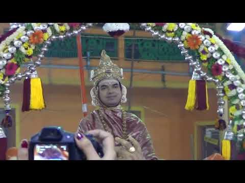Shri Shri Raghaveshwara Bharathi Mahaswamiji Adda Pallaki Utsava at Mani Mutt