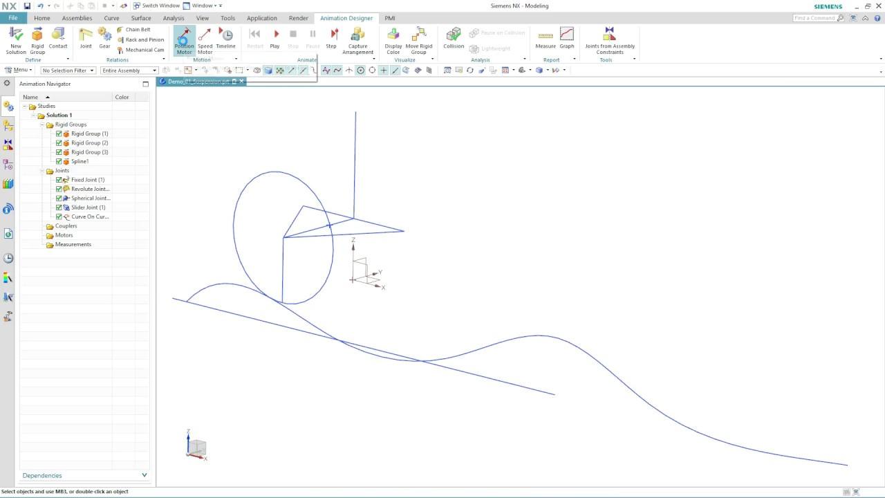 animation designer in nx 12 youtube rh youtube com networx nx-12 installation manual nx 12 manual