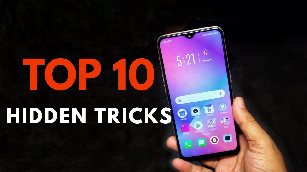 OPPO A7 Top 10 hidden features Trick & Tips | Hindi