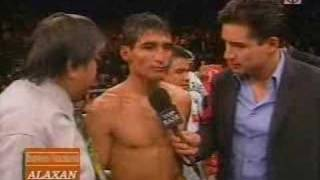 Pacquiao vs. Morales III interviews part 8