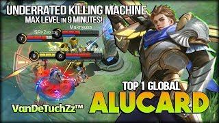 Killing Machine 9 Minutes MAX Level by VαnDeTuchZz™ Top 1 Global Alucard - Mobile Legends