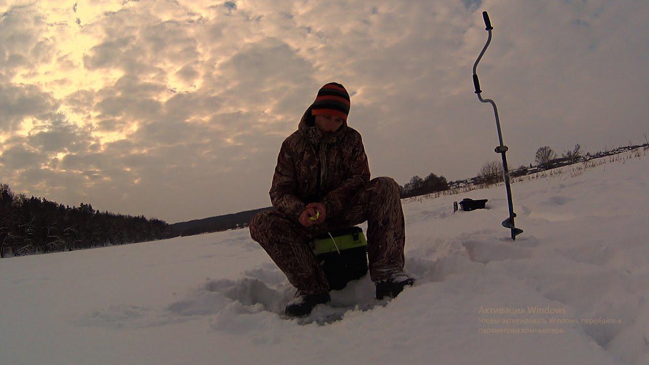 ловля плотвы в январе