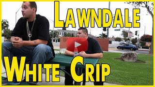 White Crip from Lawndale Taliban Mob Gang in the South Bay of Los Angeles