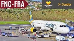 CONDOR TripReport | AIRBUS A321 | FUNCHAL - FRANKFURT | XL-SEAT | DE 1571 | NIKI CANCELLED | FullHD
