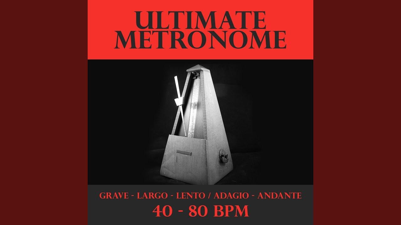 Metronome - 72 BPM - Andante - YouTube