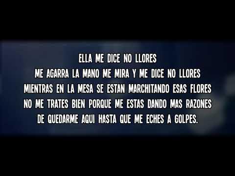 LEBY - No Me Llores (LETRA)