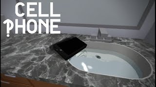 Playing Cell Phone Roblox