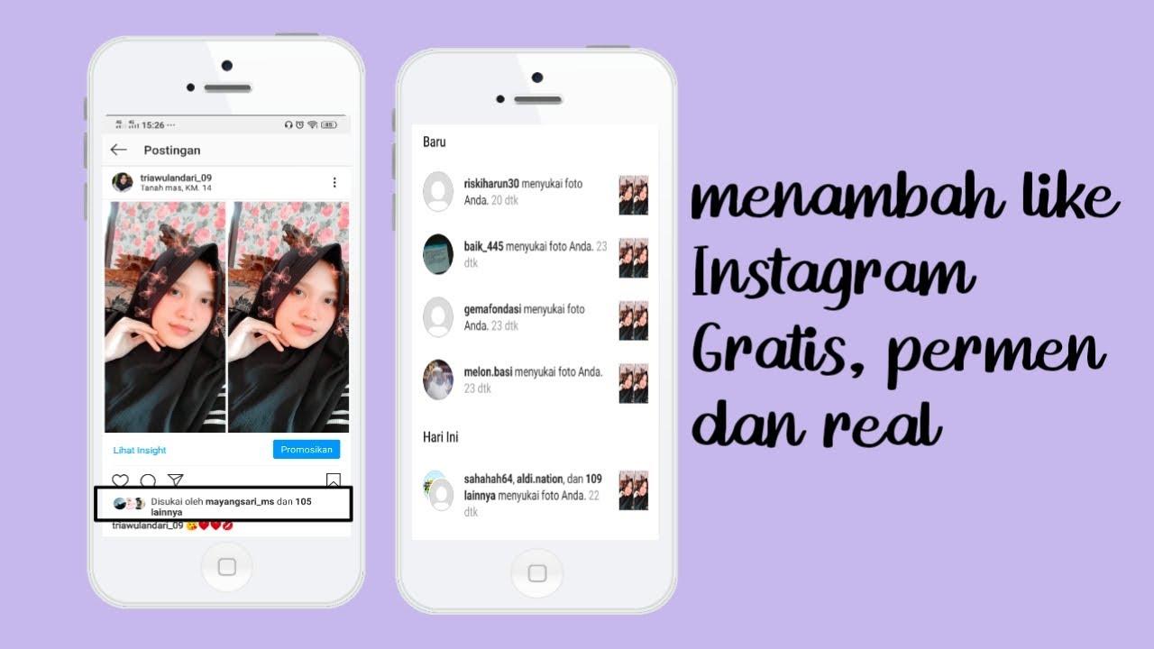 Cara Menambah Like Instagram Tanpa Aplikasi Real Gratis Dan Permanen Terbaru 2020 Youtube