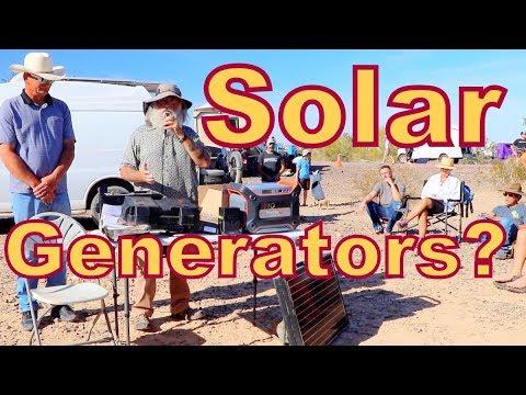 Should You Buy a Solar Generator?