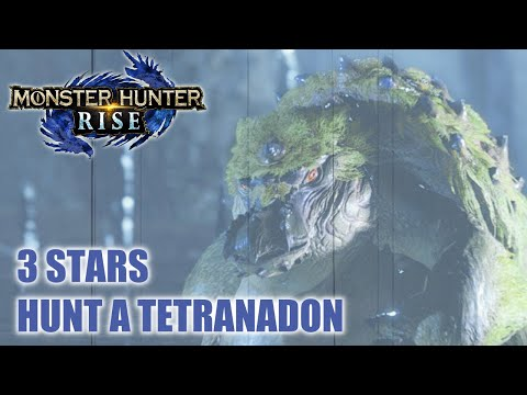 Monster Hunter Rise – Can't Stomach the Thought - Hunt a Tetranadon - Level 3 Star Village Quest |
