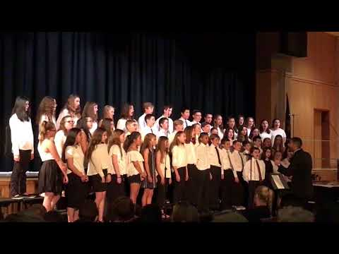 Wantagh Middle School 7th Grade Chorus. Hold Back the River. 5/24/18