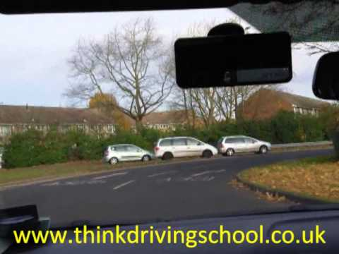DSA Driving Test, Independent Driving Farnborough Gate Back to Test Centre Following Signs