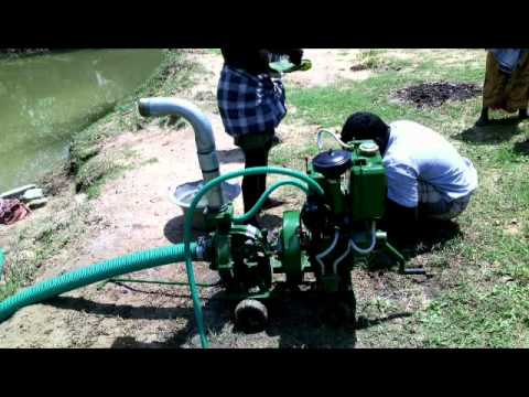 Usha Diesel Engine Pumpset Youtube