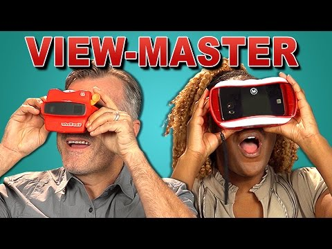 ADULTS REACT TO VIEW-MASTER (VR VS. 3D)