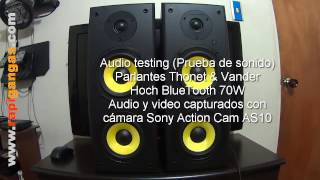 Audio Testing Thonet And Vander Hoch Bt 70w Prueba De Audio Parlantes 3