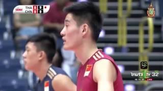 Thailand vs China 14 Jul 18th Asian Mens U20 Volleyball Championship 2016