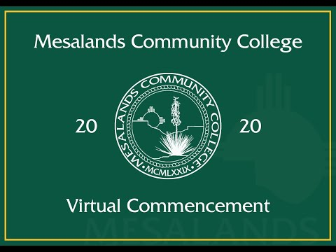 Mesalands Community College - Virtual Commencement 2020