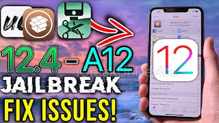 Jailbreak iOS 12.4 for A12: How to Update Unc0ver & Fix ALL Issues! (NO Computer)