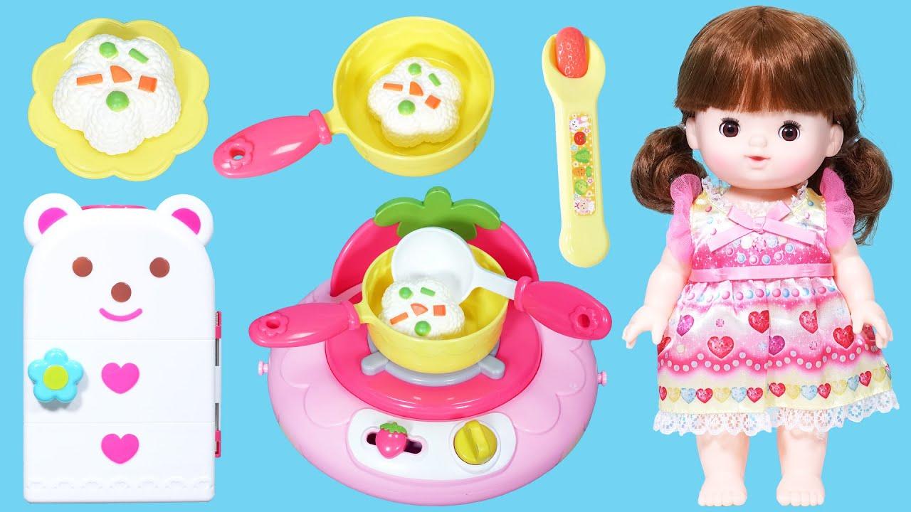 玩具故事:小女孩肚子餓了?來做飯吃吧!