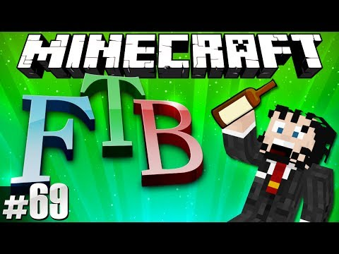 Minecraft Feed The Beast #69 - Resort to Port