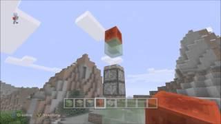 Minecraft Xbox ONE PS4 & Wii U How To Make A Rocket Ship in Minecraft (No Mods)