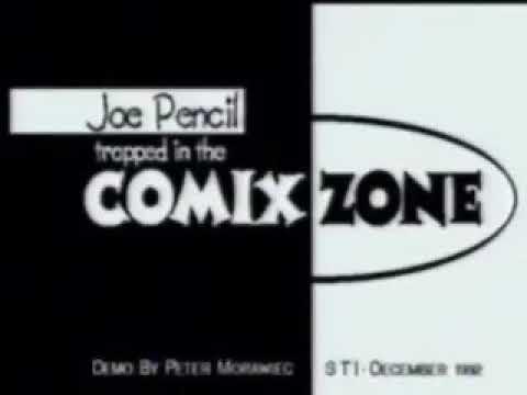 1992 Concept Demo - Joe Pencil Trapped in The Comix Zone
