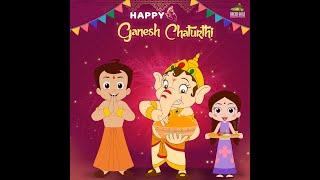 Chhota Bheem - Happy Ganesh Chaturthi!!