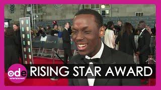 BAFTAs: Rising Star Winner Michael Ward can't believe his life!