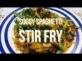 Soggy Spaghetti Stir Fry