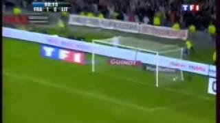 France 2-0 Lituanie - Thierry Henry bat le record de buts en Equipe de France !