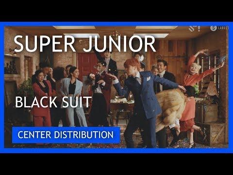 SUPER JUNIOR (슈퍼주니어) - BLACK SUIT [CENTER DISTRIBUTION]