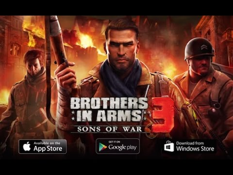 BROTHERS IN ARMS . STORY 4 FULL. ANDROID GAME