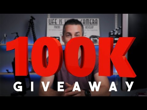 100k Giveaway | Thank you for the support!!!