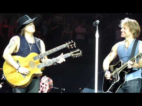 Bon Jovi Wanted Dead Or Alive London O2 Arena 22nd June 2010