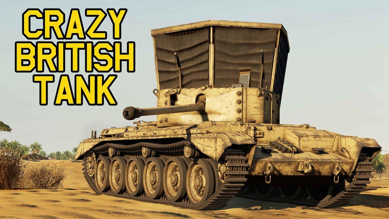 BRITISH WW2 TANKS WERE CRAZY - Avenger in War Thunder - OddBawz