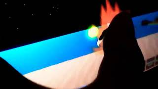 Playing dragon ball z in Roblox