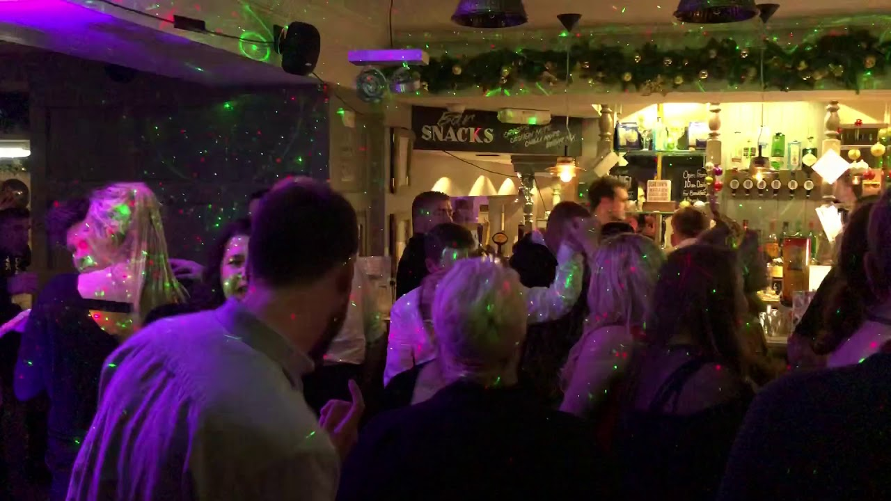 New Year S Eve Party At The County Hotel Hexham Youtube