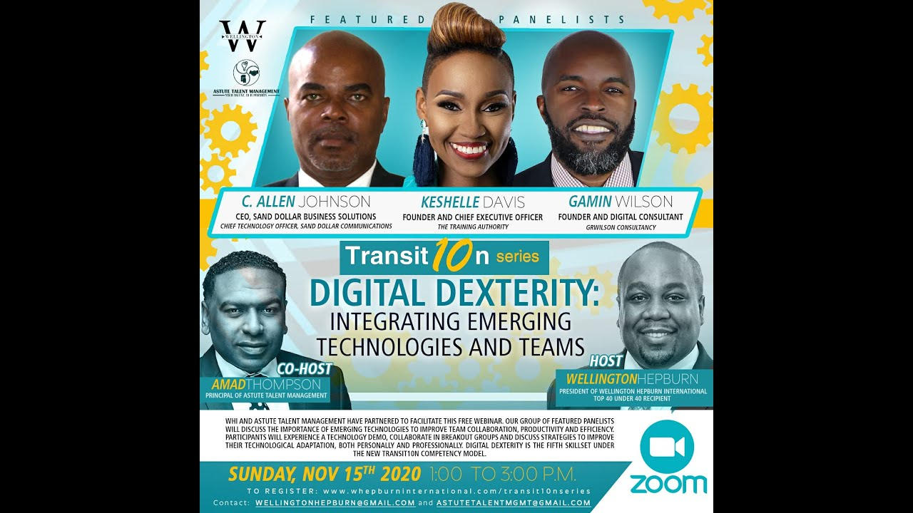 WHI Transit10n Series - Digital Dexterity: Emerging Technologies and Teams Webinar (Nov 15 2020)
