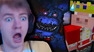 Tommy & Techno Almost Die Playing Five Nights At Freddy's...
