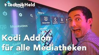 Kodi Addon MediathekView auf Fire TV installieren, Anleitung Deutsch